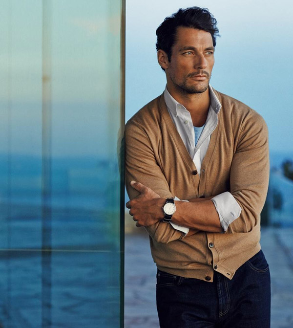 david gandy haircut