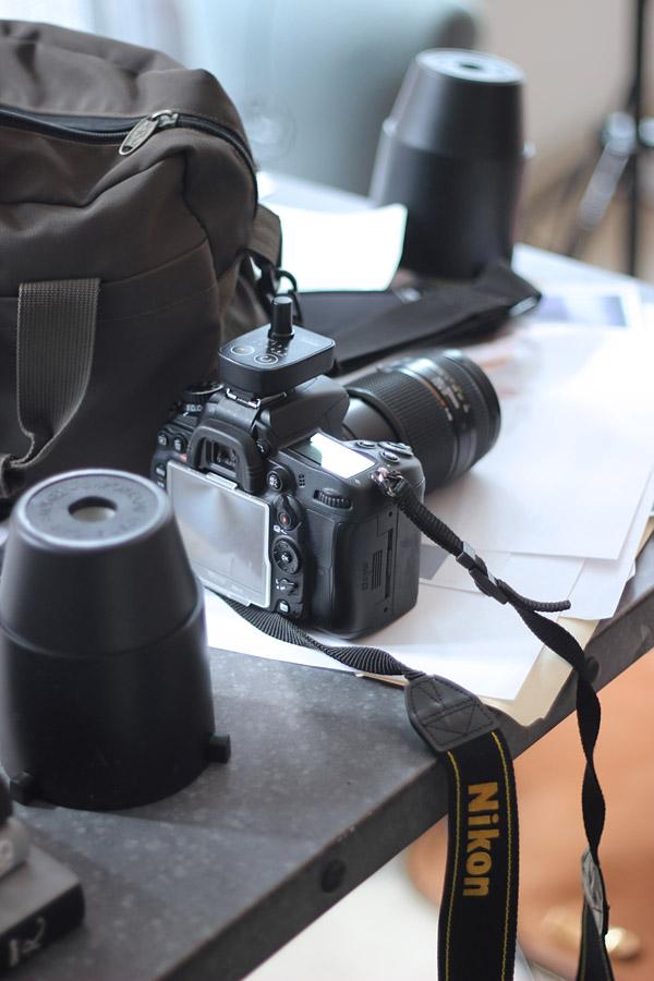 Erika Brechtel BTS HOTR NYC camera equipment