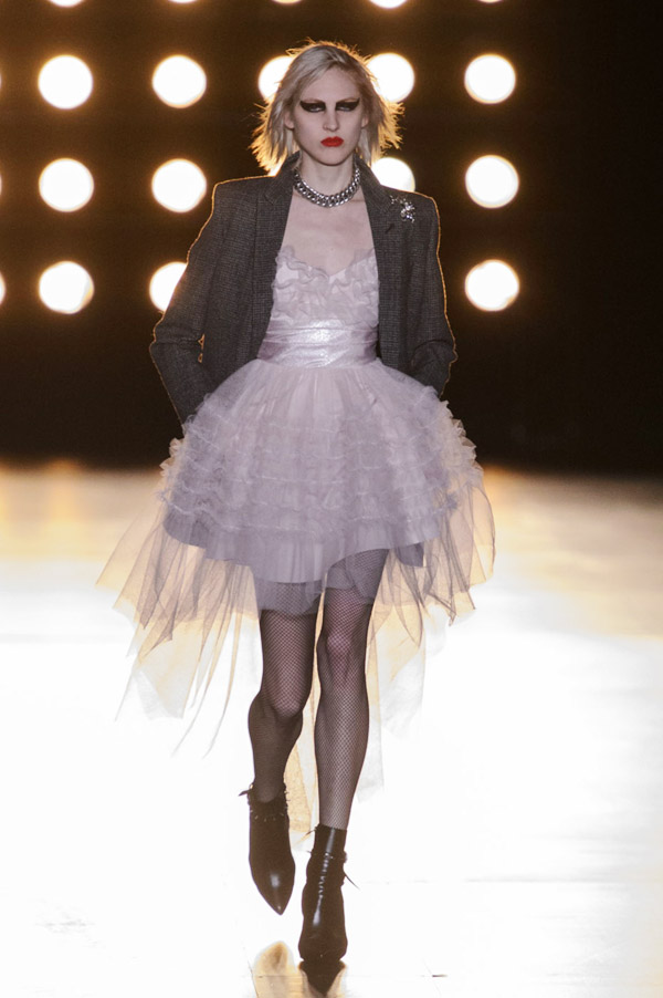 Saint Laurent Hedi Slimane FW15 ballerina punk