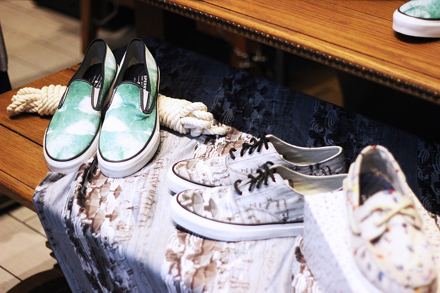 Sperry x Gray Malin launch party collection