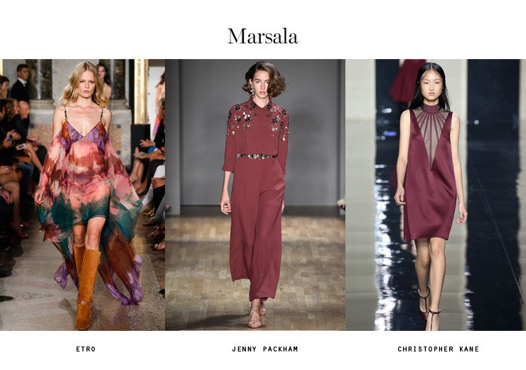 color trends 2015 marsala