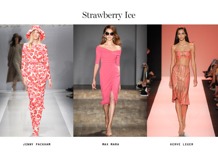 color trends 2015 strawberry ice
