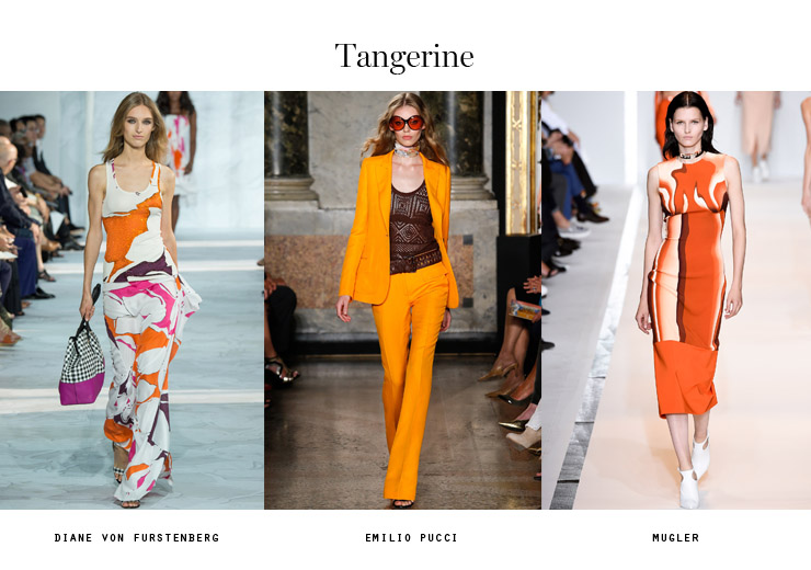 color trends 2015 tangerine