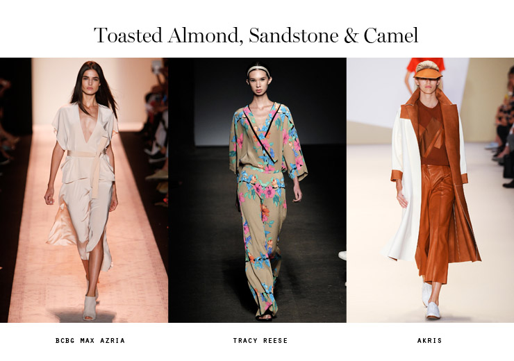 color trends 2015 toasted almond sandstone camel