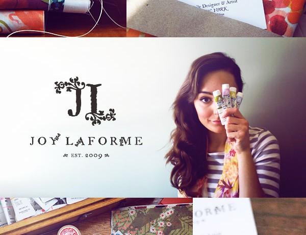 Joy Laforme brand styled by Erika Brechtel