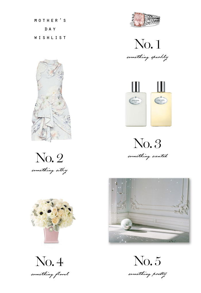 mothers day wishlist Erika Brechtel