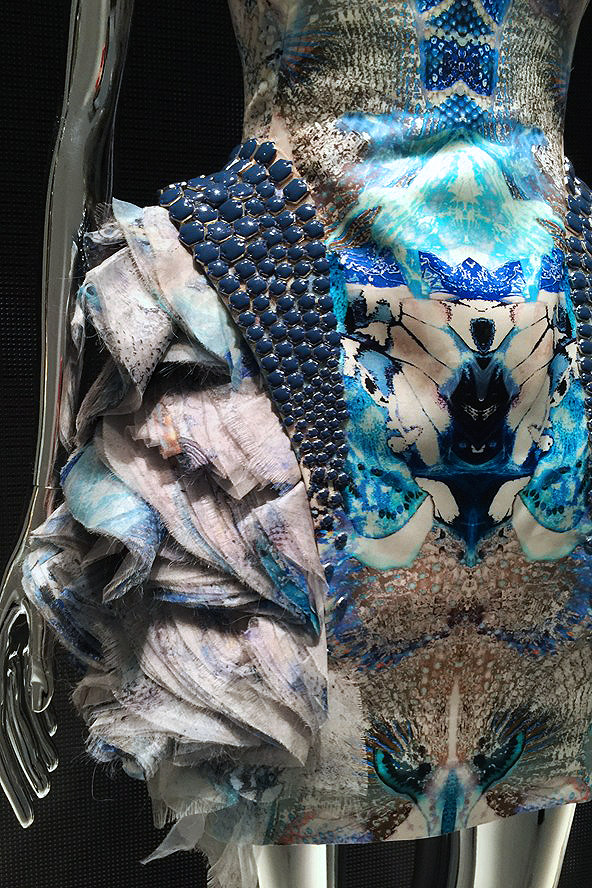 Alexander McQueen Savage Beauty Victoria and Albert Museum Platos Atlantis detail