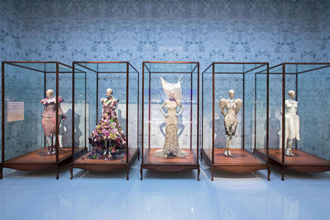 Alexander McQueen Savage Beauty Victoria and Albert Museum Romantic Naturalism