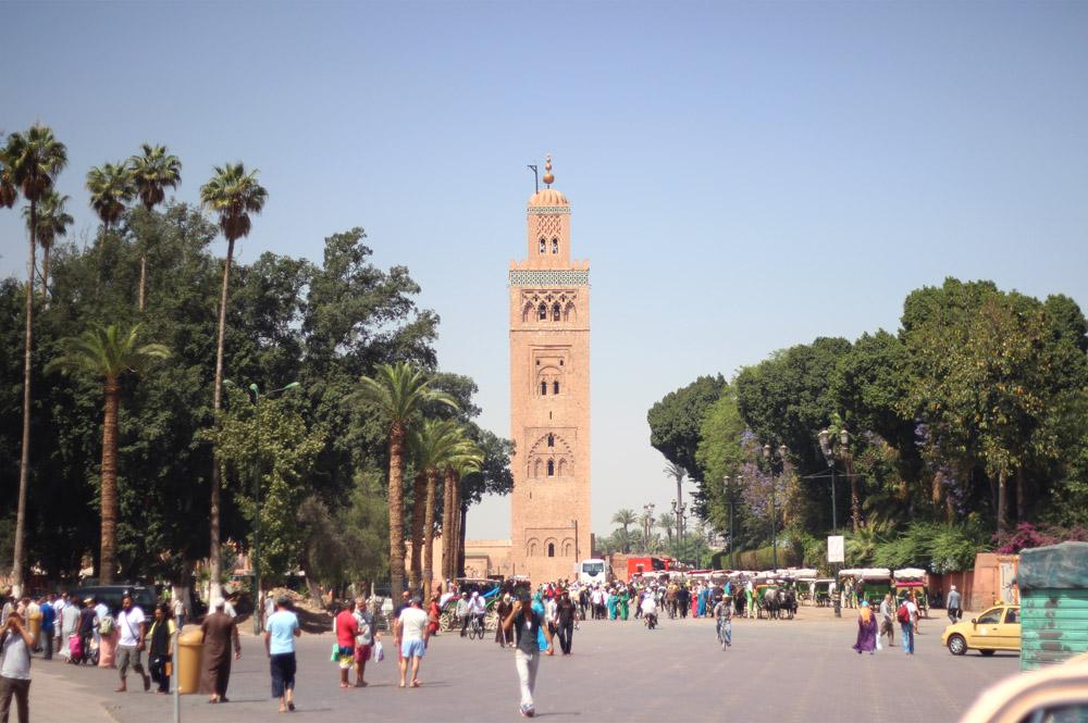 Morocco Marrakech plaza Erika Brechtel
