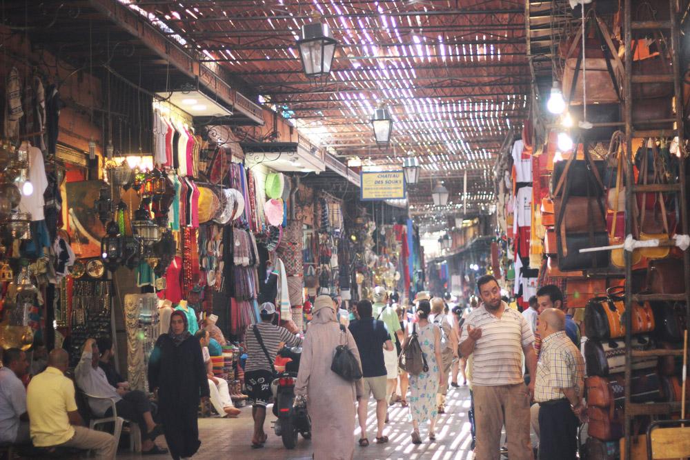 Morocco Marrakech souk Erika Brechtel