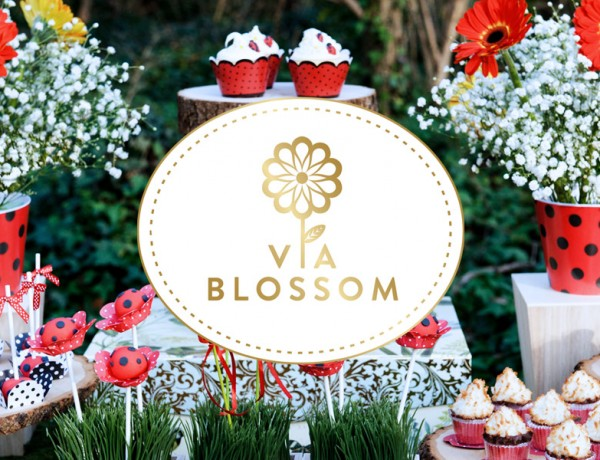 via-blossom-logo-by-Erika-Brechtel-party-table