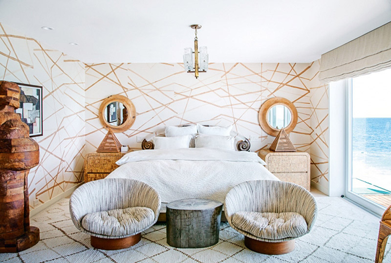Kelly Wearstler Malibu home Vogue Living photo by Nick Hudson bedroom