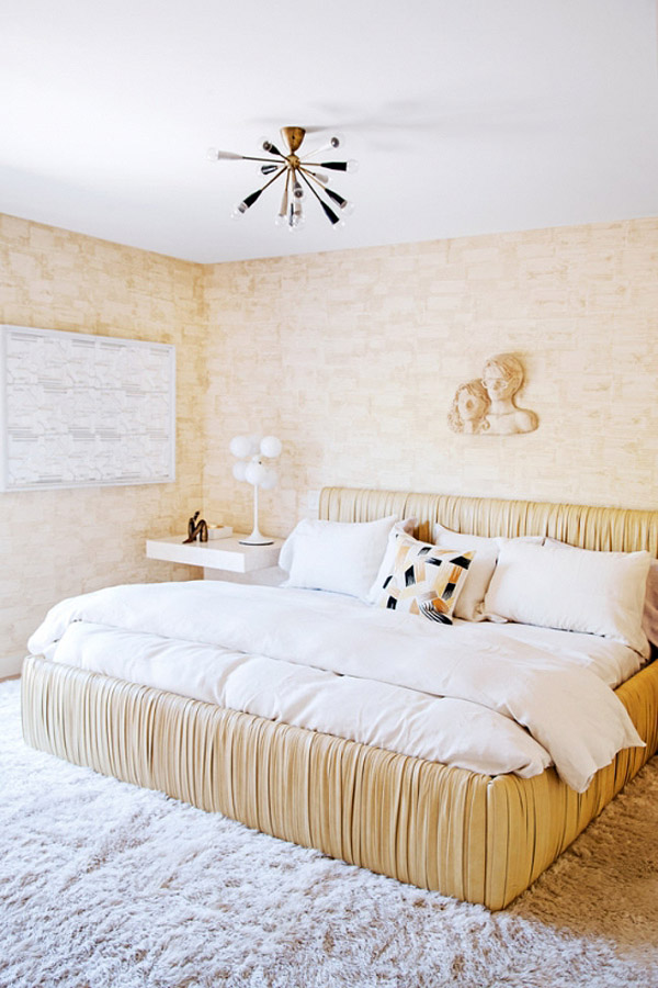 Kelly Wearstler Malibu home Vogue Living photo by Nick Hudson guest bedroom