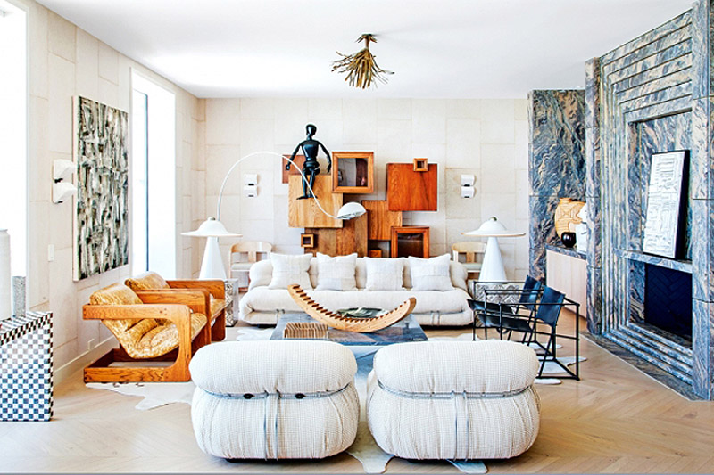 Kelly Wearstler Malibu home Vogue Living photo by Nick Hudson living room