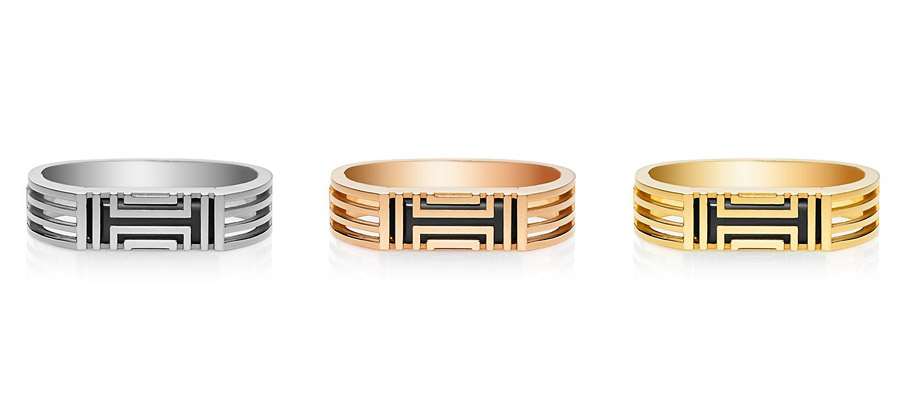 Tory Burch for Fitbit caged metal bracelet