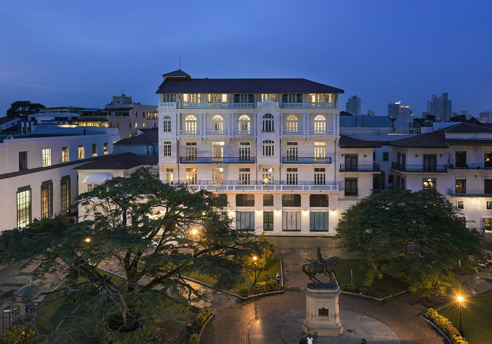 American Trade Hotel Panama City by Commune Design Colonial exterior square