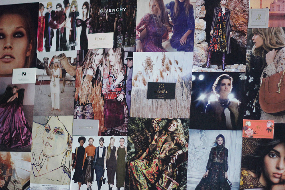 Erika Brechtel inspiration board Fall 2015