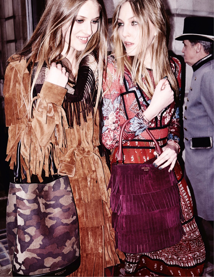 Fall 2015 ads 70s bohemian luxe Burberry by Mario Testino 1