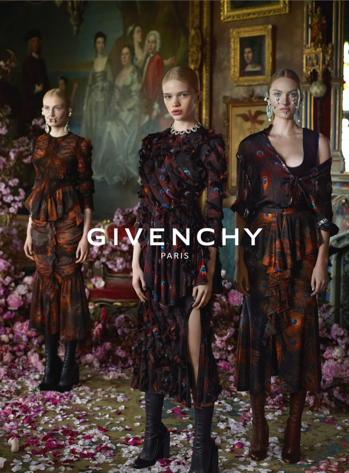 Fall 2015 ads 70s bohemian luxe Givenchy by Mert and Marcus 2