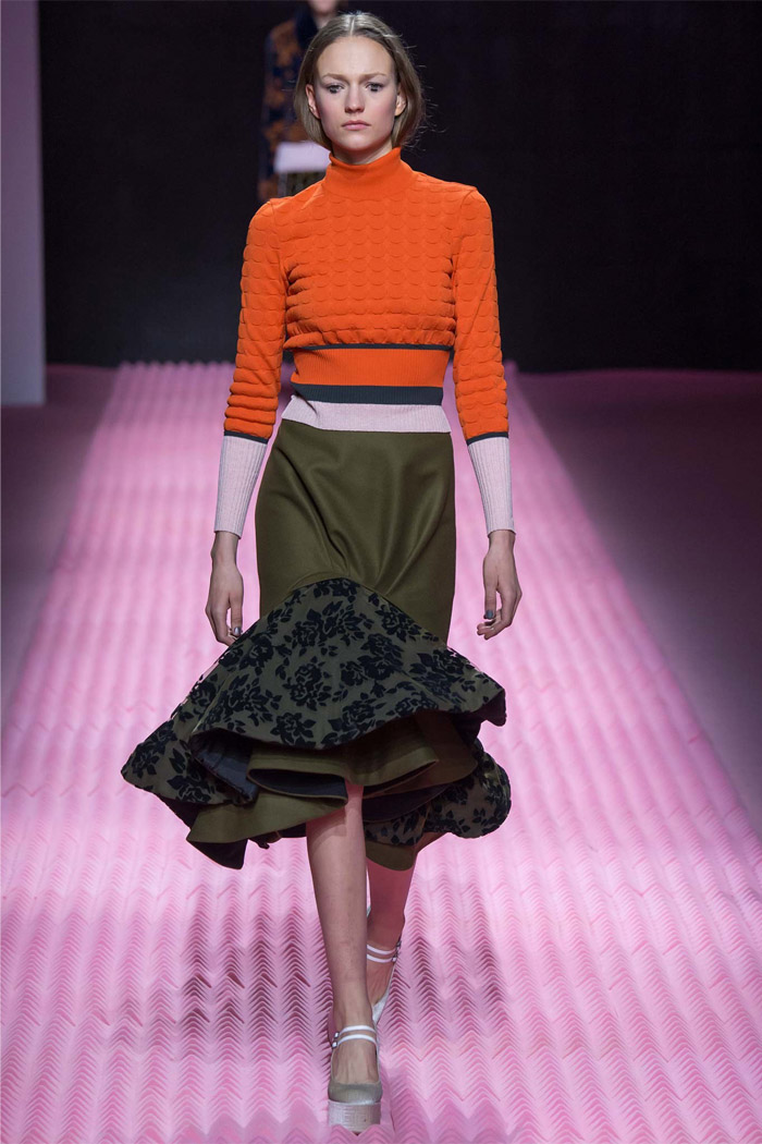 Front Row Forecast Jolie Smith AW15 color trends Mary Katrantzou dried herb