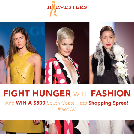 HarvestersOC Fight Hunger with Fashion giveaway