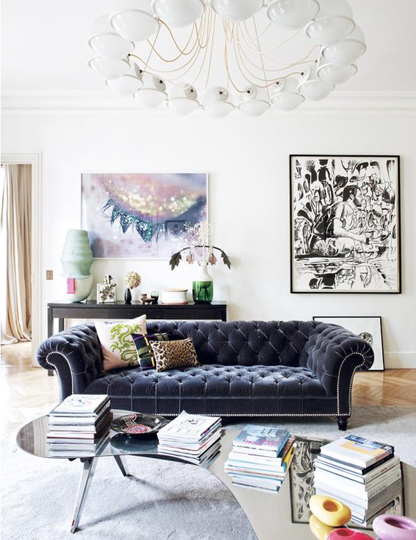 HOT HOME TREND The Chesterfield Sofa - Erika Brechtel