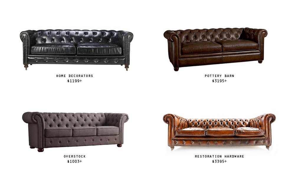 chesterfield options four to try