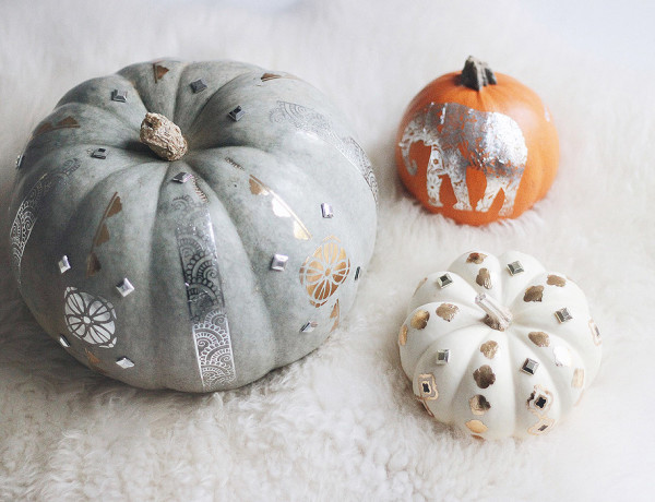 DIY flash tattoos pumpkins Erika Brechtel