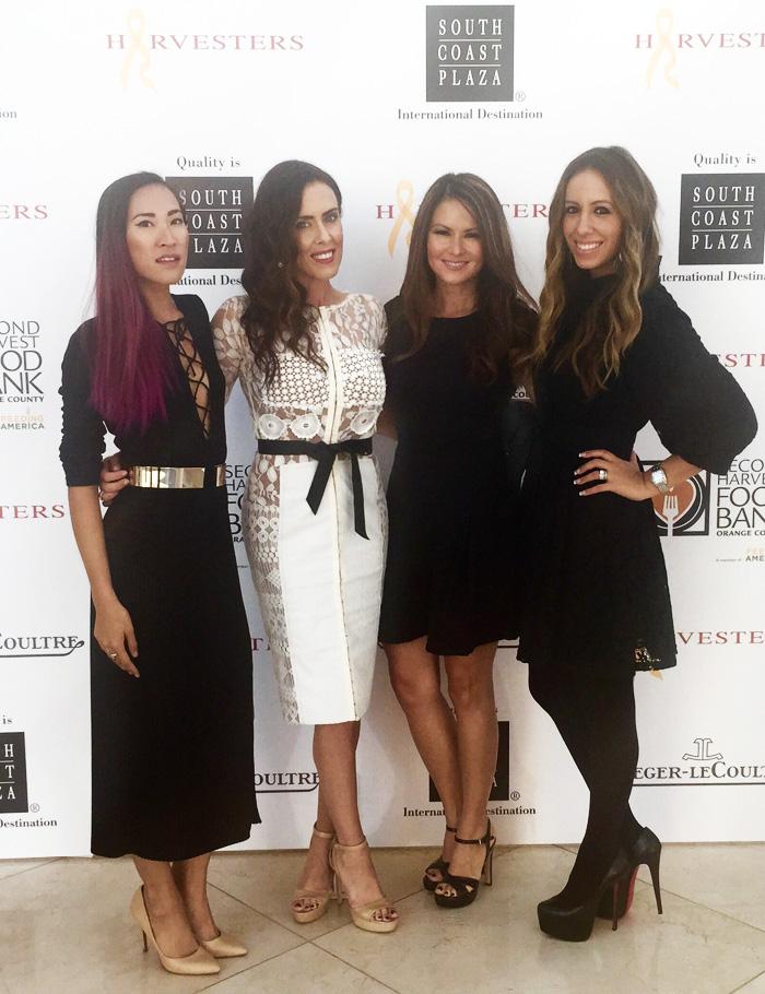HarvestersOC fashion show fundraiser 2015 OC bloggers Erika Brechtel