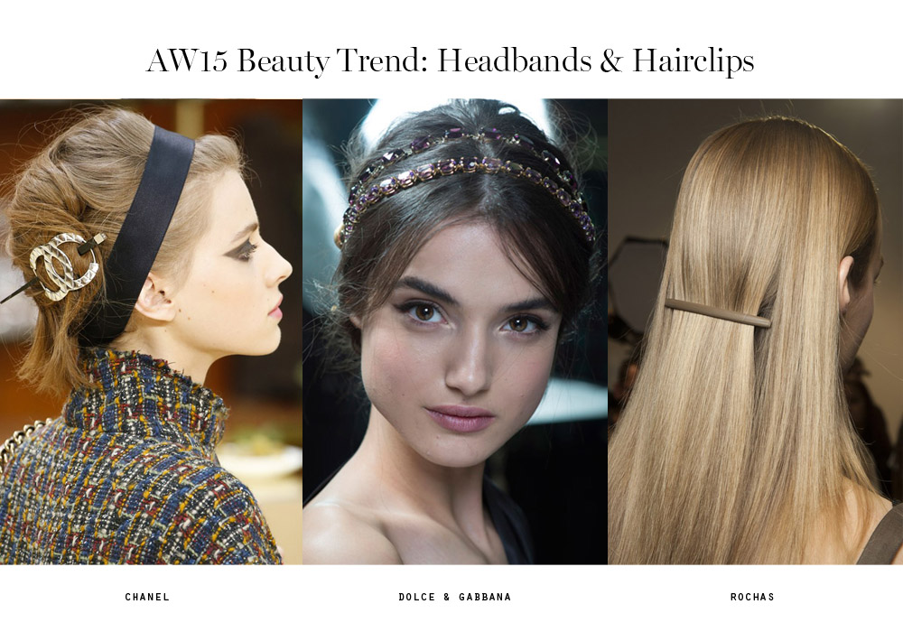 beauty trends aw15 headbands hairclips