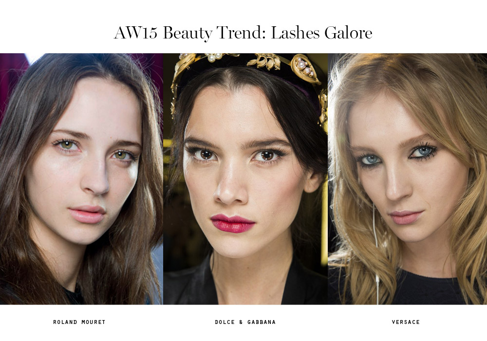beauty trends aw15 lashes