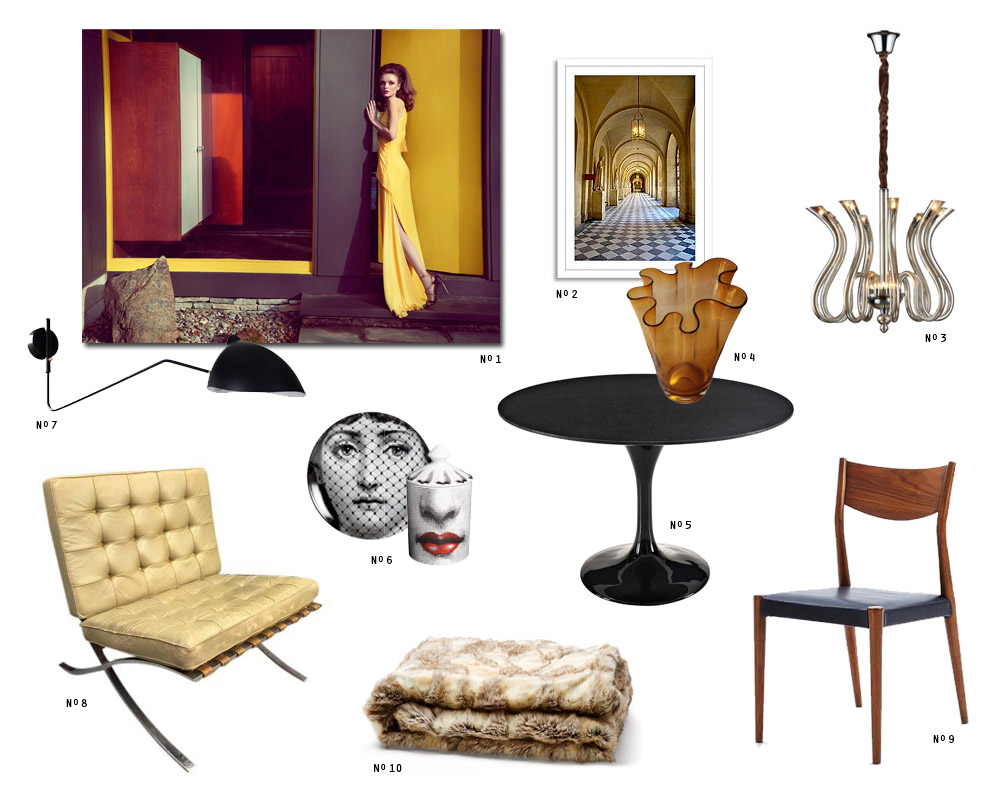 get the look mid-century Italian