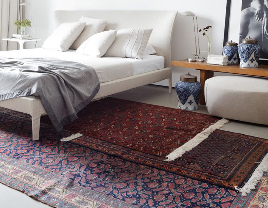 styling tips layering rugs 4 ways erika brechtel. Black Bedroom Furniture Sets. Home Design Ideas
