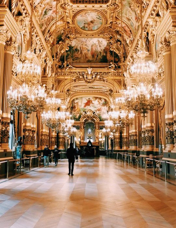 Palais Garnier, Mary Quincy via Conde Nast Traveler