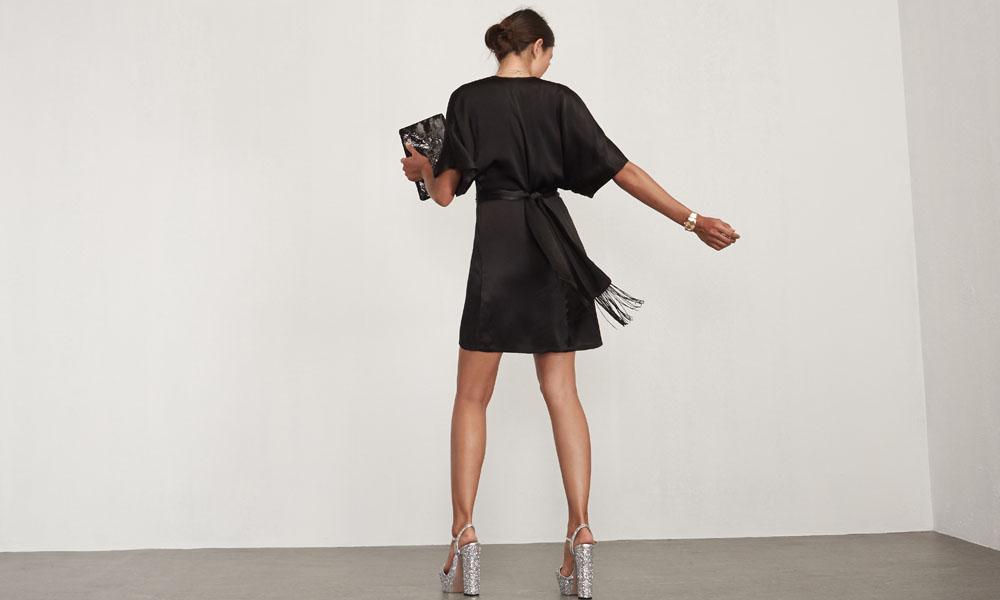 Ruben Dress in Black