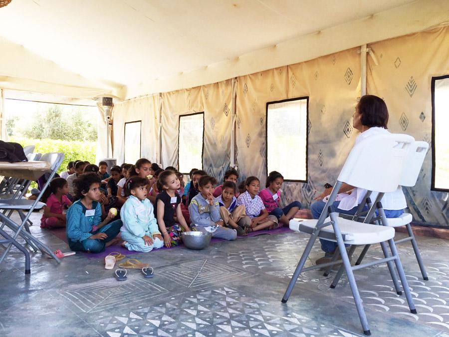 Morocco Marrakech Project Soar basic health class