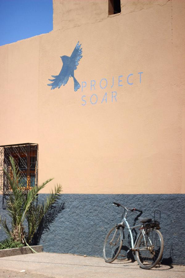 Morocco Marrakech Project Soar community center school facade