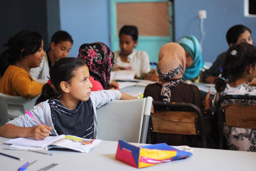 Morocco Marrakech Project Soar community center school student