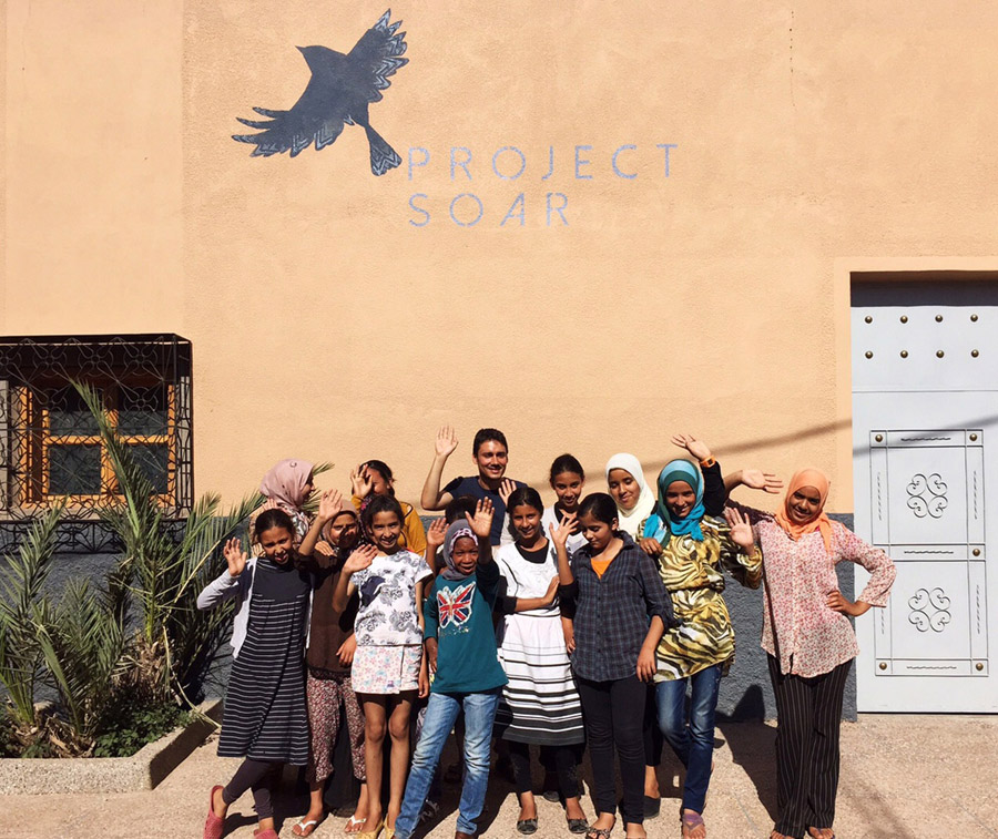 Morocco Marrakech Project Soar community center school students