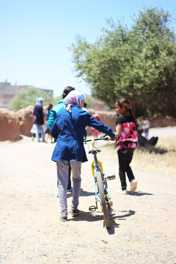 Morocco Marrakech Project Soar ending bicycle