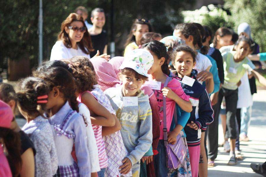 Morocco Marrakech Project Soar girls lineup