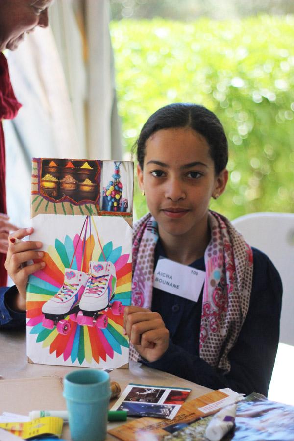 Morocco Marrakech Project Soar vision board student
