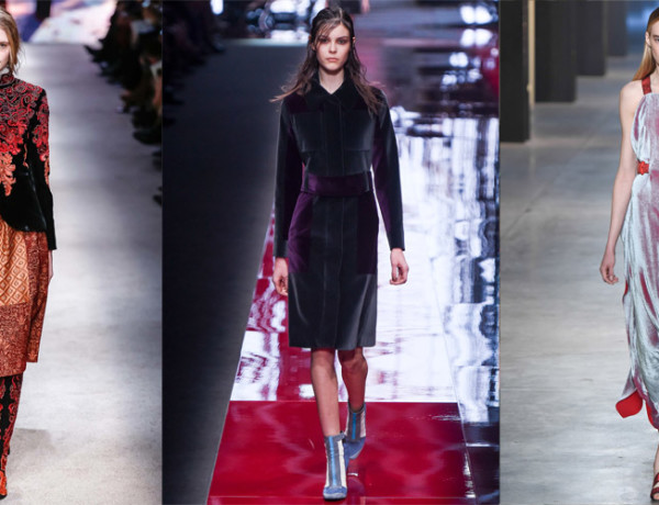 winter 2015 runway trend velvet feat
