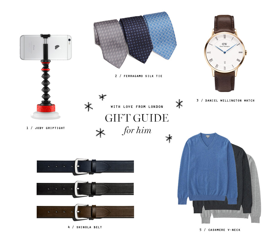 with love from london Sandy Choi Huff gift guide for him
