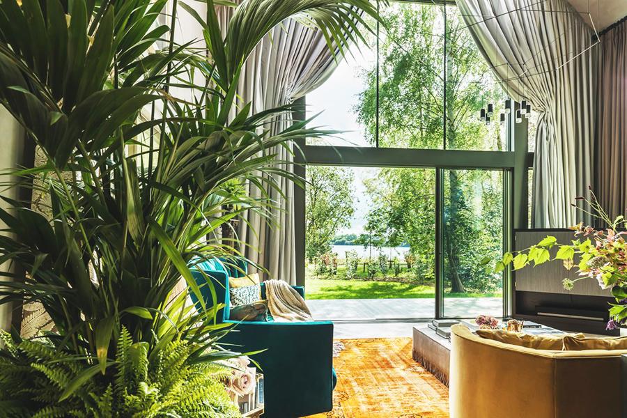 Kate Moss designed barnhouse lake view