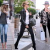 ROSIE HUNTINGTON-WHITELEY Everyday Street Style