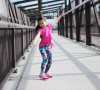 fabkids mini-me activewear Leighton Brechtel track star outfit feat