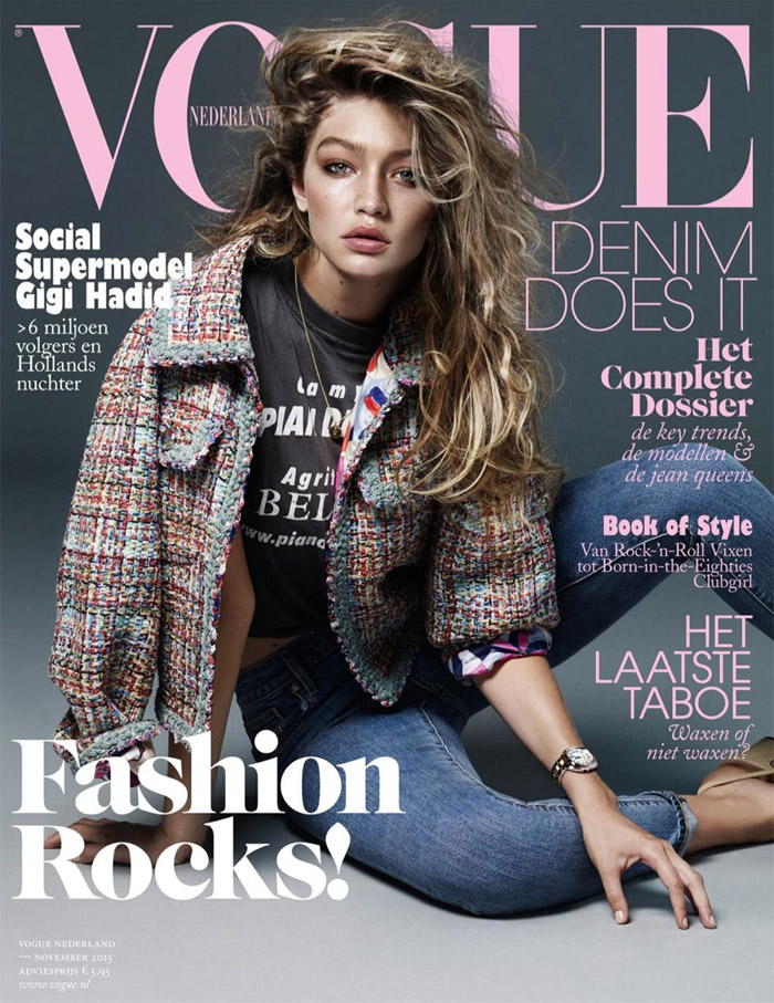 Vogue Netherlands November 2015 by Alique