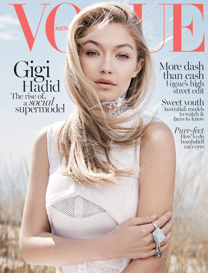 Vogue Australia June 2015 by Benny Horne