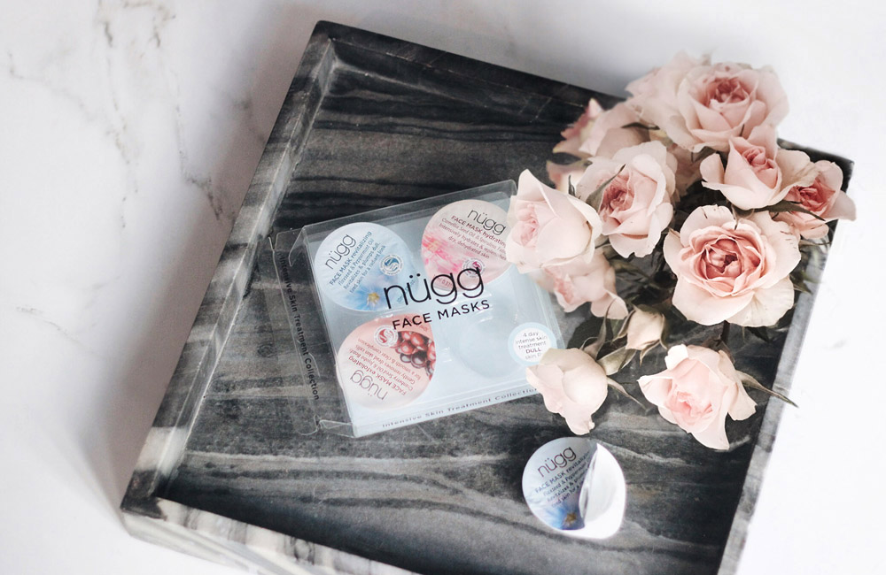 nugg beauty face masks travel skin treatment hydrate revitalize blush roses